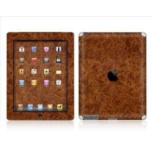 APPLE   iPAD 2  WOOD GRAIN  Removable Decorative SKIN