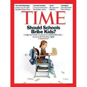 Time April 19, 2010 Should Schools Bribe Kids? Time Warner Books