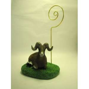 Big Horn Sheep RAM Figurine Memo Holder: Everything Else