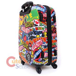 Sanrio Hello Kitty Luggage Suit Case 20in Loungefly 3