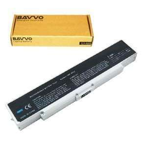 Laptop Battery 6 cell compatible with SONY VGN N130G/WK1 VGN N320E/W