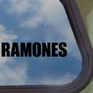 Ramones Black Decal Punk Rock Band Truck Window Sticker