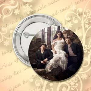 25 INCH VAMPIRE DIARIES BUTTON PIN PINBACK
