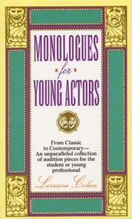 Young Actors by Lorraine Cohen, HarperCollins Publishers  Paperback