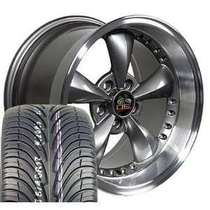 17 Fits Mustang (R) Bullitt   Bullet Style Wheels tires   Anthracite