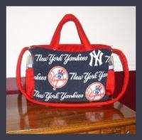 New DIAPER BAG mw NEW YORK YANKEES logo writing fabric