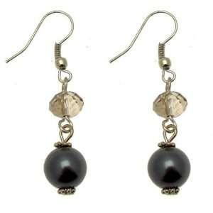 Acosta Jewellery   Black Diamond Crystal & Hematite Pearl