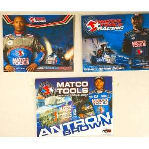 NHRA   Matco Tools Racing   Antron Brown   Top Fuel Dragster   FRAM