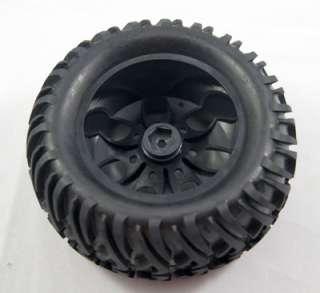 monster car Truck rubber tires tyre,Plastic wheel rim 88005