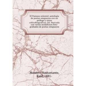 foto grabados de poetas uruguayos R. Montero Bustamante Books