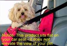 Dog Car Seat   Cover Carrying Kennel to Secure Dogs Pet