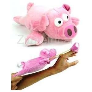 Flying Slingshot Pig Toys & Games