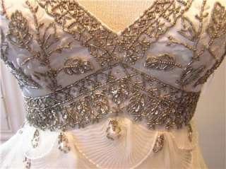 NWT SUE WONG $748 Destination Wedding Dress Bridal gown formal social