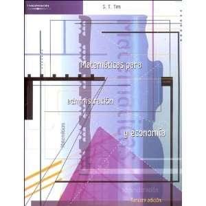 Matematicas para administracion y economia/ Applied
