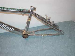 DIAMONDBACK IGNITOR Old School BMX Bike frame Chrome with Forks