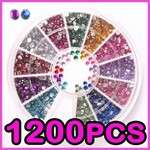 15 x 3D DESIGN TIP NAIL ART MANICURE STICKERS DECAL DECORATIONS p1