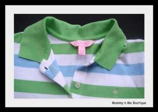 Lilly Pulitzer Womens Golf Polo Shirt Logo Stripes XS