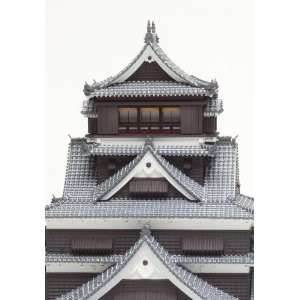 NEW 1/144 Kumamotojo Castle Model Kit Japanese Castle Free EMS
