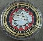 US Marine Corps Vietnam Veteran Devil Dogs Challenge Co