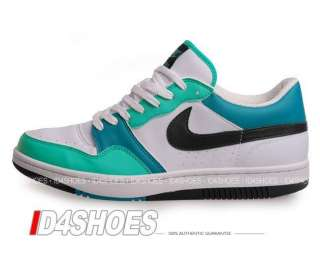 Nike Wmns Court Force Low Basic White Clear Jade Shoes