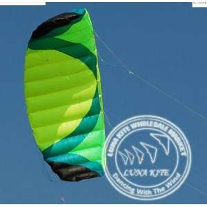 [luna kite] quad kite quad line line parafoil kite power kite