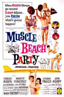 Muscle Beach Party Frankie Avalon, Annette Funicello