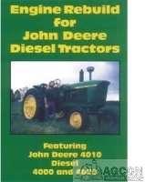 John Deere Tractor 4000 4020 4010 Engine Rebuild DVD