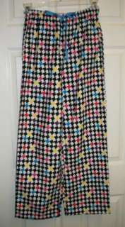 WHISPERS LIVE LOVE LAUGH SOFT PAJAMA LOUNGE PANTS S