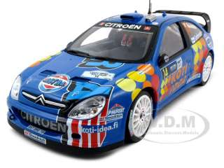CITROEN XSARA WRC #14 1/18 RALLY DEUTCHLAND