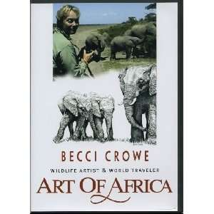 Art of Africa Safari Wildlife Adventure Becci Crowe, Mark
