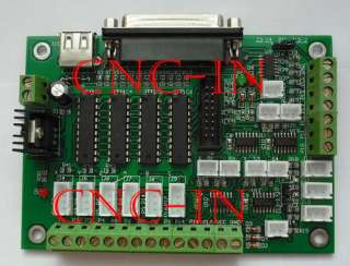 axis CNC stepper motor driver board 3A V6560 Mach 3