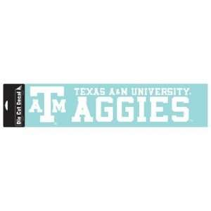 NCAA Texas A&M Aggies 4X16 Die Cut Decal Sports