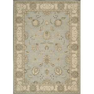 Nourison Persian Empire Aqua Traditional Persian 2 3 x 8