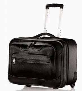 New Samsonite Black Wheeled Laptop Case Rolling Overnight Carry