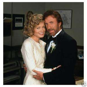 WALKER photo 03 CHUCK NORRIS & SHEREE J WILSON