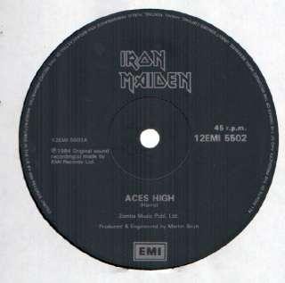 Iron Maiden Aces High 12 NM/VG++ UK EMI 12EMI 5502