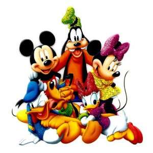 Fab 5 Mickey Minnie Pluto Donald & Daisy Duck The Gang