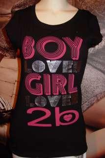 xs*s*m*l* BEAUTIFUL BEBE LOGO tee shirt top *black* tons to choose
