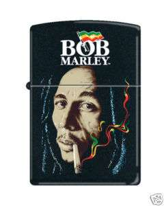 Bob Marley Smoking marijuana Zippo Cigarette Lighter