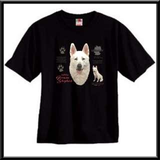 White German Shepherd Dog Origin T Shirt S,M,L,XL,2X,3X