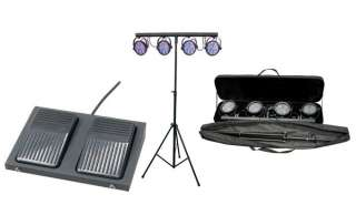 CHAUVET MINI 4BAR LED DJ Stage Wash Light System + Bag