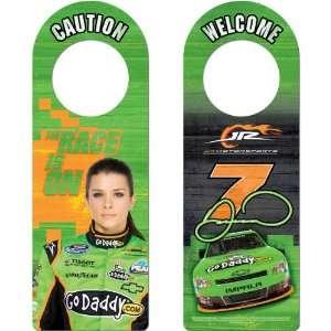 NASCAR Danica Patrick Wood Door Hanger