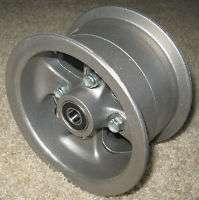 Mini Bike 6 Aluminum Wheel with 5/8 ID Bearings