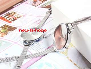 New arrival women steel wire dial fashion ladies girls watch Best gift
