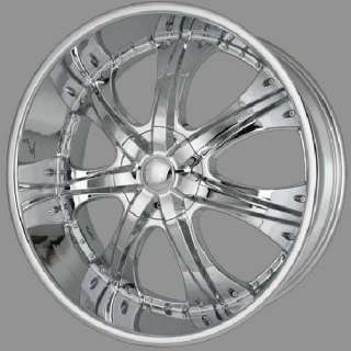 24 INCH RIMS CHROME TIRE PACKAGE 5X150 TUNDRA U2 35