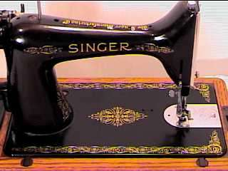 1936*SINGER HAND CRANK SEWING MACHINE*MODEL 99* NICE *