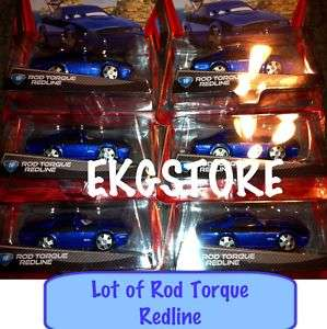 DISNEY PIXAR CARS 2 ROD TORQUE REDLINE #16 lot Of 6