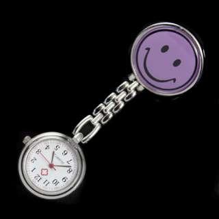 Promotional Fashion Brand New Smile Face Nurse Watch WIZ