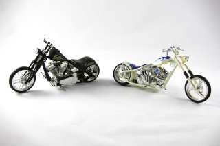Jesse James Muscle Machines West Coast Choppers SET OF 5 Bikes 1:18