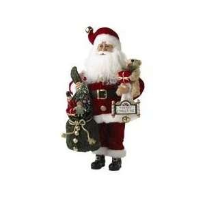 Karen Didion Santa Bearing Gifts